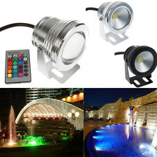 10W LED Underwater light RGB Warm Cool White Pond Pool Wash Spot Lamps 12V IP68