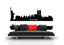 Wall Tattoo City City Skyline Wall Foil WST06 New York