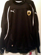 BRAND NEW WITH TAGS PUMA AEK ATHENS FC TRAINING SHIRT ZIP TOP