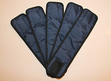 5 Pack Male NAVY BLUE NYLON Dog Diaper Belly Band Wrap 2XL to 7XL