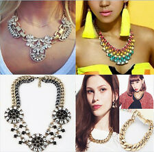 Fashion Necklace for Women 2014 Vintage Chunky Choker Statement Necklace Pendant