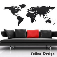 Wall Sticker Wall Foil Atlas World Map Airplane Ship Accessories WST5