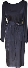 NWT AUTH DRIES VAN NOTEN DOLE 5116 W.W.NAVY LAYERED DRESS SZ IT40, 42