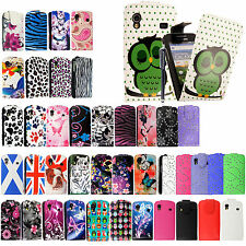 FOR SAMSUNG GALAXY ACE S5830i S5839i NEW PU LEATHER FLIP CASE COVER DESIGN NEW