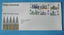 Stamps UK GB First Day Covers FDC 1969 inc. Cathedrals Ships Gandhi Investiture