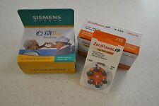 SIEMENS TOUCHING DIGITAL BTE HEARING AID AIDS AND BATTERIES COMBO PACK!