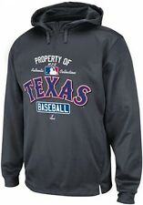 Texas Rangers Majestic Authentic On Field 1/4 Zip Hoodie Big & Tall Sizes