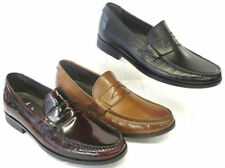 MENS CLARKS PLUS CLASSIC MOCCASIN STYLE SLIP ON CASUAL LEATHER SHOES CANTIN SOLE