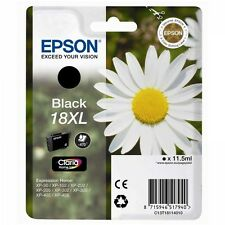 Epson Original T1811 Daisy 18XL Black INK for EXPRESSION Home (C13T18114010)