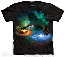 Galaxy DJ T-Shirt by The Mountain. Stars and Space Universe Tee S-3XL NEW