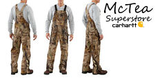 Carhartt MEN'S REALTREE XTRA® CAMO Hunting Work BIB OVERALL Unlined R50 In-Stock