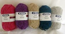 PATONS Soft Tweed x 50 gms ~ Choose colour