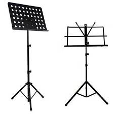 Metal djustable Heavy Duty Orchestral Conductor Sheet Music Stand Holder Folding