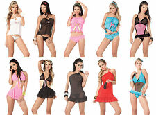 NEW Wholesale Lot LINGERIE EXOTIC INTIMATES SEXY Sheer Lace BABY DOLL S M L XL