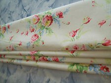 unlined ROMAN BLIND made in CATH KIDSTON FADED FLOWER CREAM MTM up to 140cm wide