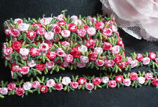 """embroidered  1/2"""" inch wide Venise Lace trim  selling by the yard( select color)"""