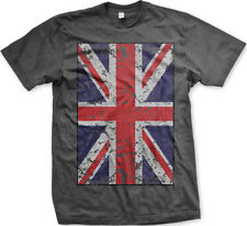 British Flag UK Great Britain Union Jack Pride United Kingdom Mens T-shirt