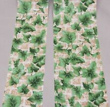 5 yds IVY WALLS NOVELTY COTTON FABRIC RIBBON  (your choice of widths)