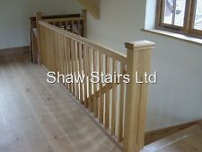 Landing Stairs Refurbishment Pack with spindles handrails baserail 41mm stairs