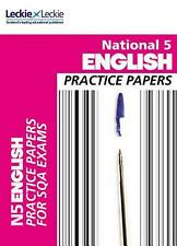 NEW National 5 English Practice Papers for Sqa Exams by Craig Aitchison Paperbac