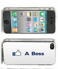'Like A Boss' Iphone Case (4,4s,5,5s,5c) Facebook Style Funny