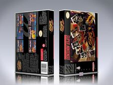 Boxing Legends of the Ring - SNES Custom Art Case/Box (*No Game*)