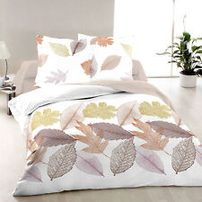Leaves - SoulBedroom 100% Cotton Sateen Bed Set (Duvet Cover & Pillow Cases)