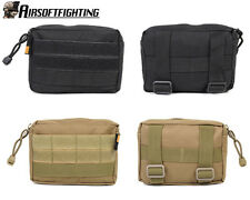 2Color 600D Tactical Military Molle Utility Accessory Magazine Pouch Bag Black B