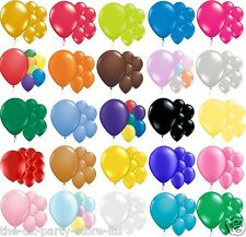 CHEAP 12 inch Latex BALLOONS All Colours High Quality Packs