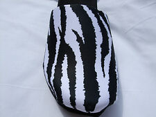 "Onesole Interchangeable  ""Tops""  Zebra Clog Top Available Medium & Large Only"