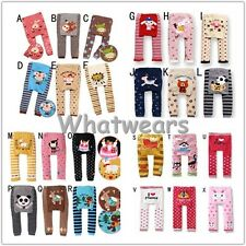 Cute Love Pattern Boys Girls Toddler Clothing Baby Legging PP Pants J8213 LJN