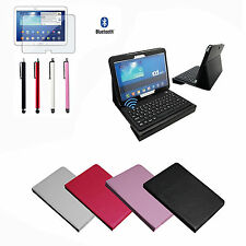 Bluetooth Keyboard Leather Case For Samsung Galaxy Tab 3 10.1 P5200/P5210+Gifts