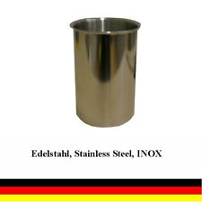 Stainless steel burner 0.5 l for gel and ethanol fireplaces - quantity selection