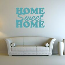 HOME SWEET HOME wall sticker living room quote decal vinyl house stickers
