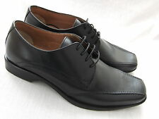 NEW CLARKS BUCKLEY BLACK LEATHER  FORMAL SHOES  BNWT