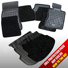 VW Golf Mk4 HB1997-2003 Boot Liner + Tailored Rubber Mats + Inserts