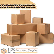"""24"""" x 18"""" 18"""" Multi Depth Double Wall Packing Box Cardboard Removal Mail Boxes"""