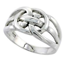 Sterling Silver Celtic Love Knot Band Ring   #tr212