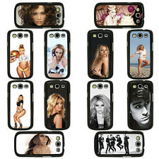 Celebrity Singers Musicians Artists Case Covers for Samsung Galaxy S3 & S4