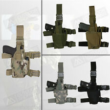 """Commando Tactical Holster 4"""" - Right Handed - Fits Pistols w/Flashlights"""