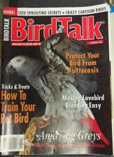 **BIRD TALK MAGAZINE Oct 96 African Grey Parrot Lovebird Breeding Rare Amazons