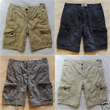 2014 Hollister Men's Cargo Shorts At The Knee Classic Vintage Short Abercrombie