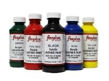 Angelus Acrylic Leather Vinyl Paint Dye Waterproof - 4 oz