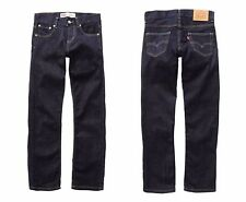 NEW Boys Original LEVI'S 504 Denim Jeans Regular Fit Kids Indigo Size Age 4-16