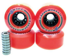 Kryptonics Classic 80mm / 80A Longboard wheels bearing ABEC 5 7 9 RED