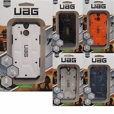 Urban Armor Gear UAG Composite Hybrid Case HD Screen Guard for 2014 HTC ONE M8