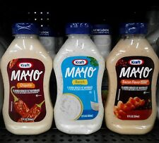 Kraft ~ Flavored Reduced Fat Mayonnaise ~ Many Flavor Choices!