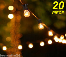 20 Piece Clear Festoon / Party String Light Kit - big, bright and bold!