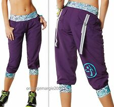 "ZUMBA FITNESS ""Can't touch this"" - CARGO PANTS CAPRI HIP HOP Convention HARRODS"