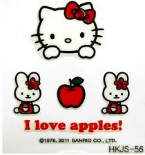 Korea Hello Kitty Sugar Babe Cat 3D Nail Art Sticker Cell Phone Mobile Deco